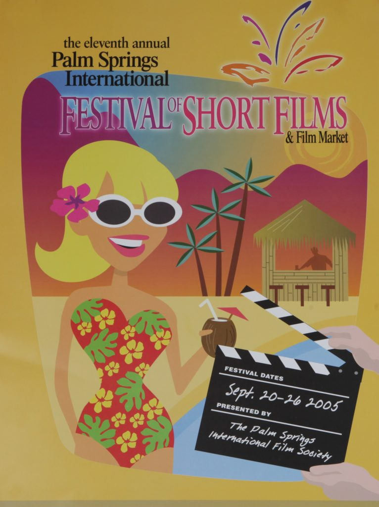 A poster from the 2005 Palm Springs International Festival of Short Films.